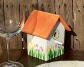 Little Terracotta Bird Cottage