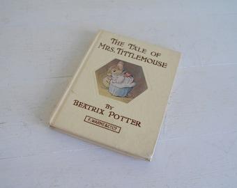 The Tale of Mrs Tittlemouse - Beatrix Potter - Warne & Co - No Date