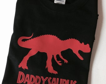 Personalized Daddysaurus T-Shirt