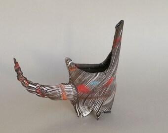 ceramic dish, modern ceramics, ceramics art, stone ware, ceramics sculpture, contemporary art, ceramic vase, table decor, center piece,