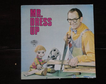 Vinyl Record Album LP-1967-Mr. Dressup Dress Up-Ernie Coombs-CBC-Children's Television-Casey-Finnegan