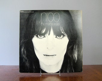 "Vintage 1968 LP Vinyl Record Album Nico ""The Marble Index"" Elektra"
