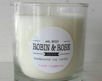 Luxury Handmade Soy Wax Scented Candle 200ml