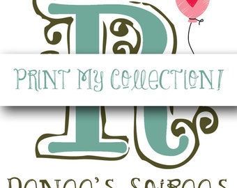 Coordinating Pieces PRINT & SHIP Option! Professionally Printed, Cut and Shipped to your Door!