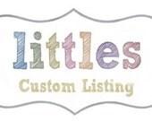 Custom lising for michelle