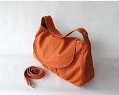 NEW YEAR SALE 30% - Fortuner in Pumpkin (Water Resistant) Purse / Laptop / Shoulder bag / Messenger Bag / Handbag / Wallet / Diaper Bag / Ho