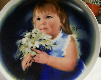 "Zolan Collectors Plate Vintage 1981 ""For You"" Limited Edition Series"