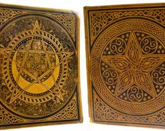 Tan Leather Tooled Journal/BOS
