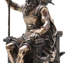 Large Statue of Odin