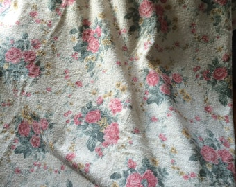 Shabby, Cabbage pink roses XL spa towel