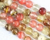39 VOLCANO QUARTZ Beads 10mm - COD8692