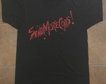 Vintage 1980s Return Of The Living Dead ZOMBIE Movie T-Shirt NEVER WORN Deadstock 1985