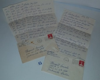 K Vintage paper supplies 1970's ephemera lot handwritten pages old writing letters with airmail stamps envelopes correspondence