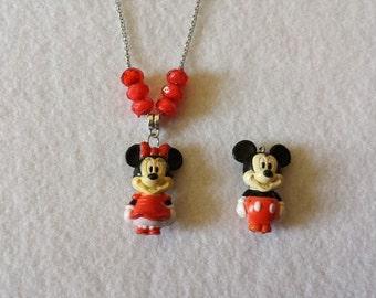 Mouse  Figurine Necklace