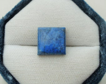 Blue Lapis Lazuli Square Cabochon Loose Gemstone 8mm