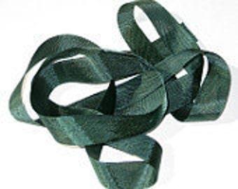 "Jungle Green Vintage Hug Snug (3 Yards) 1/2"" Seam Binding"