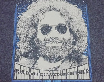 Thank You Jerry Garcia Grateful Dead inspired lyric tee shirt - Dead and Company Co Deadhead