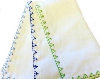 Chevron Stitched Linen Napkin (set of 4)