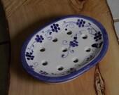bitcoin Soap dish Bathroom blu blue provence decorations soap saver dish and tray