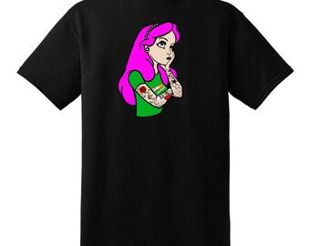 Arrabella The Tattooed Princess T-shirt