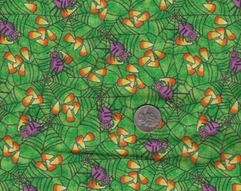1/2 yard of Halloween fabric