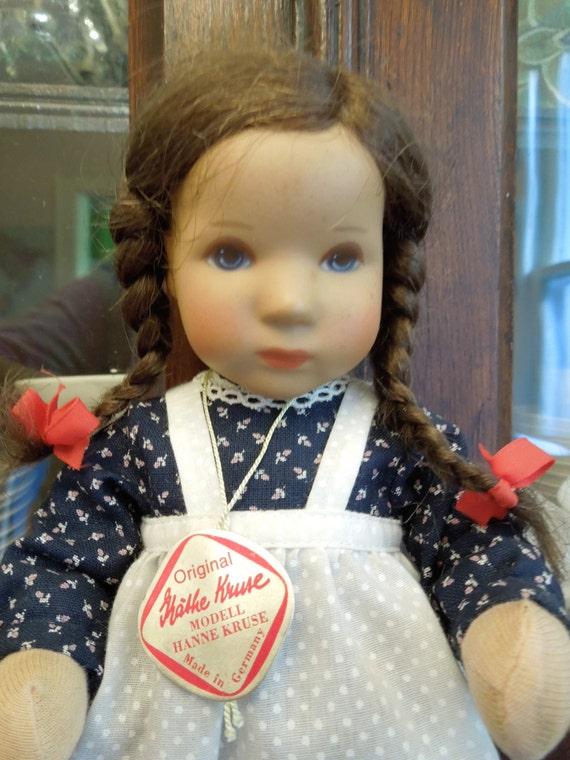 Kathe Kruse Doll- 1980s