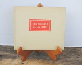 Vintage The Cheese Cook Book 1942 by Kraft Cheese Company Marye Dahnke