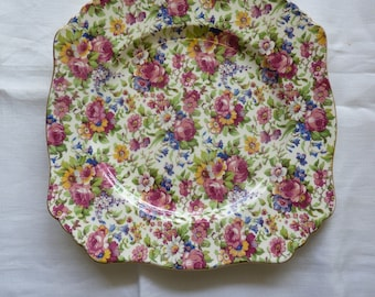 VINTAGE Royal Winton CHINTZ Grimwades 1930s SUMMERTIME