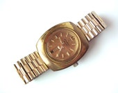 """Vintage Wittnauer """"Automatic"""" Day/Date Men's Watch in Shabby Chic Condition"""