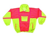 Extreme 1990 Sun Ice Double Enclosure All-Neon Ski Jacket - L