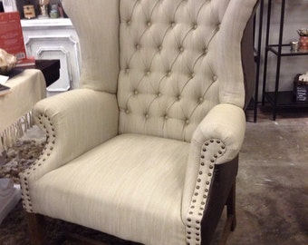 Casey Chair w/ leather