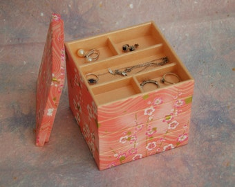 4 Level Jewelry Box(M) with Lid