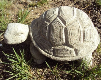 Turtle Garden Stone, Handmade in Big Bear, CA.