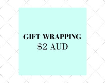 Gift Wrapping & notecard