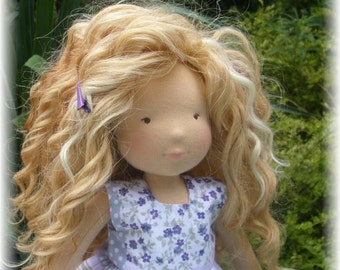 OCTOBER 2016 - Custom Waldorf  Doll Deposit for 15, 17, 19 inches doll