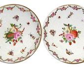Set of Porcelain Antique Plates