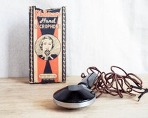Vintage Art Deco Philmore Hand Microphone ~ Music Room Retro Home Decorations, Graduation Gift for Music Student, Present for Musician