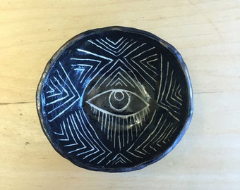 All-Seeing Eye Smudge Dish