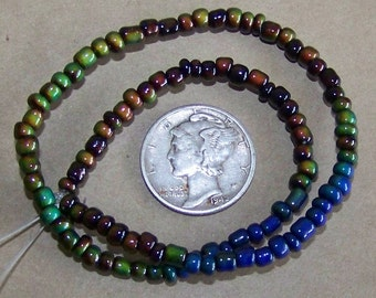 Strand of 3mm Micro Mood / Mirage Beads