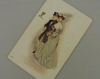 Volland Violets McFall Postcard Unused 1907