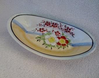 Vintage Cherry Blossom Lusterware Dish
