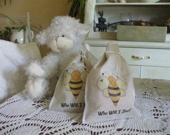Bee Baby Shower Favor Bags