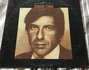 Leonard Cohen Debut on Columbia Records