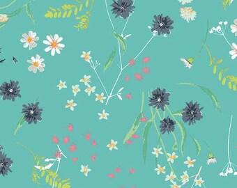 AGF Lavish Yardage - Blossom Swale Calm KNIT