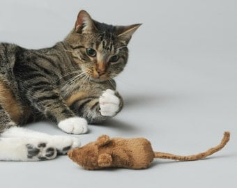 Stuffed Mouse Cat Toy