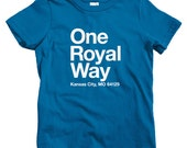 Kids Kansas City Baseball Stadium T-shirt - Baby, Toddler, and Youth Sizes - KC Tee, Sports, Fan - 4 Colors