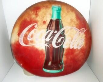 24 Coke Button ,Vintage Coke Button ,1950 Coke Bottle, Coke Button