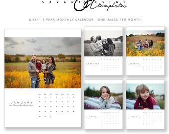 Items similar to Custom Calendar, Monthly Photo Calendar ...