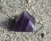 Gorgeous Amethyst Pyramid for Inspiring Personal Excellence and Creative Problem Solving