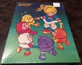 1983 Rainbow Brite puzzle - Vintage jigsaw cartoon - by Golden
